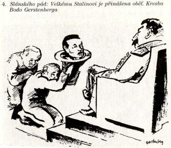 Na današnji dan - Page 23 Slansky_cartoon_kresba