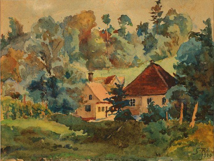 Rođena Znamenita Slikarica Slava Raskaj 1877 Povijest Hr