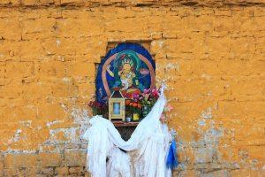 Fence The Potala Palace Buddha Statues Faith Tibet