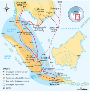 Karta Kraljevstva Šri Vidžaja