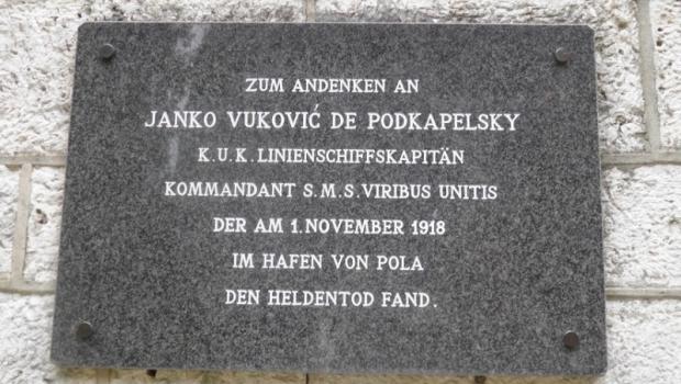 Spomen ploča Janku Vukoviću Podkapelskom