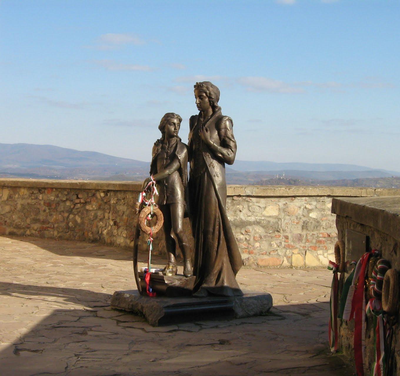 Jelena sa sinom, dvorac Palanok