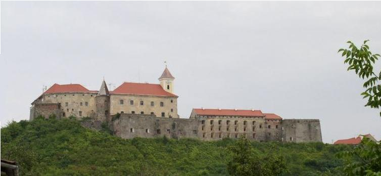 Dvorac Palanok u Munkaču