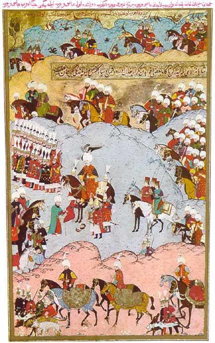Osmanko Carstvo zauzima Moldaviju