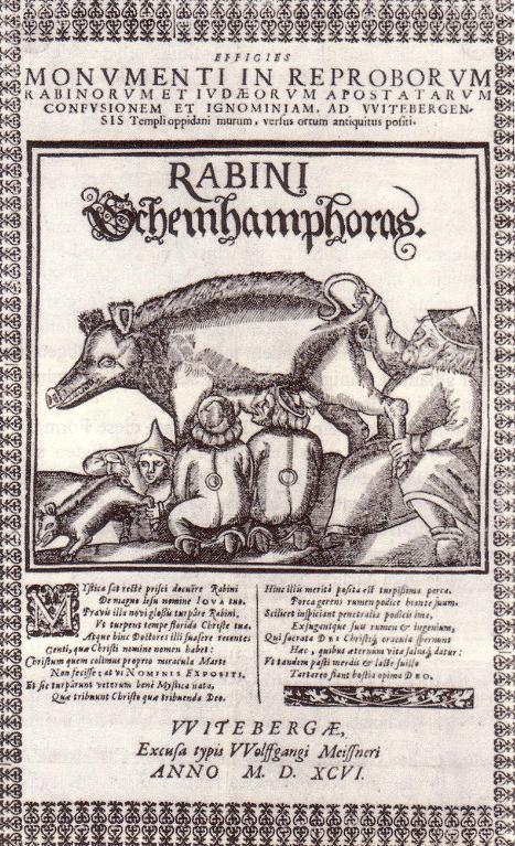 Prikaz Židova u Lutherovim komentarima