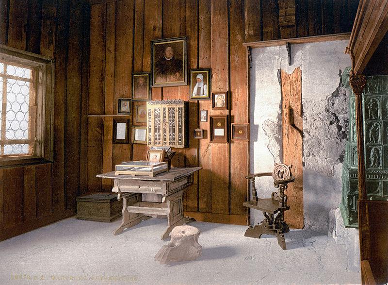 Lutherova radna soba u Wartburgu